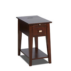 Parkview Chairside End Table with Electric & USB Outlets
