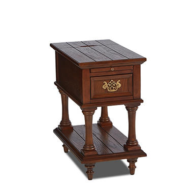 glenbrook chairside end table with electric usb outlet sam 39 s club. Black Bedroom Furniture Sets. Home Design Ideas