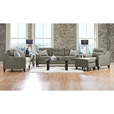 Prestige Aaron Sofa, Loveseat, Chair and Ottoman Collection