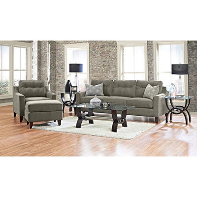 Prestige Aaron Sofa, Chair and Ottoman Collection