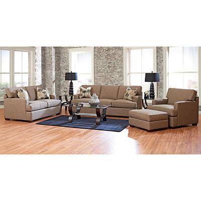 Prestige Ballard Sofa, Loveseat, Chair and Ottoman Collection