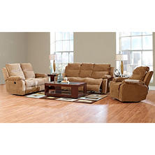 Prestige Crawford Reclining Sofa, Reclining Loveseat and Reclining Chair Collection