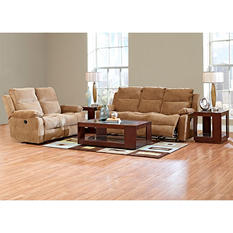 Prestige Crawford Reclining Sofa and Reclining Loveseat Collection
