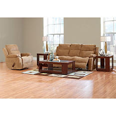 Prestige Crawford Reclining Sofa and Reclining Chair Collection