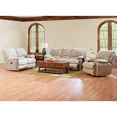 Prestige Wilson Reclining Sofa,Reclining Loveseat and Rocking Reclining Chair Collection