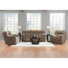 Prestige Benson Reclining Sofa, Reclining Loveseat and Rocking Reclining Chair Collection