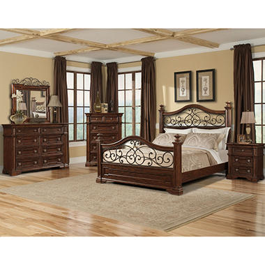prestige san marino queen bedroom group 5 pcs sam 39 s club