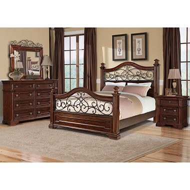 prestige san marino king bedroom group 4 pcs sam 39 s club