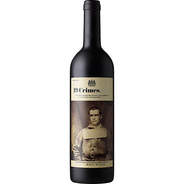 +19 CRIMES RED BLEND 750ML