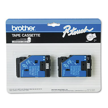Brother P-Touch - TC-20 Label Tape, 1/2