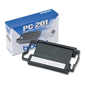 Brother PC201 Thermal Transfer Print Cartridge - Black, 450 Page Yield