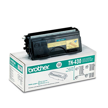 Brother TN430 Toner Cartridge, Black (3000 Page Yield)