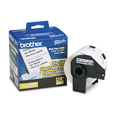 Brother P-Touch - DK1209 Labels, Small Address, White - 800 Labels
