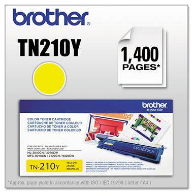 Brother® TN-210Y Toner - Yellow