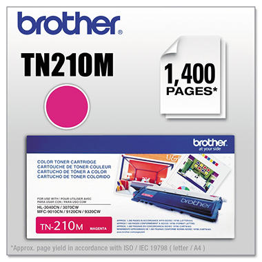 Brother® TN-210M Toner - Magenta
