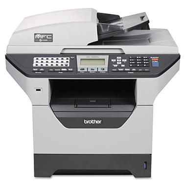 Brother MFC-8480DN Multifunction Laser Printer with Duplex Printing and Networking