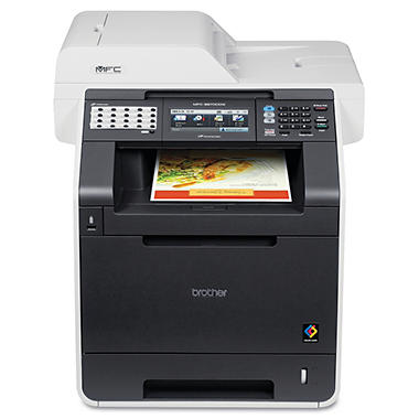 *$509 after $120 Tech Savings* Brother MFC-9970CDW Wireless Laser All-in-One Printer