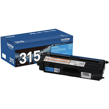 Brother® TN-315C High-Yield Toner - Cyan