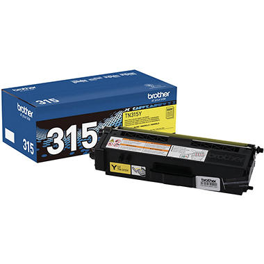 Brother® TN-315Y High-Yield Toner - Yellow