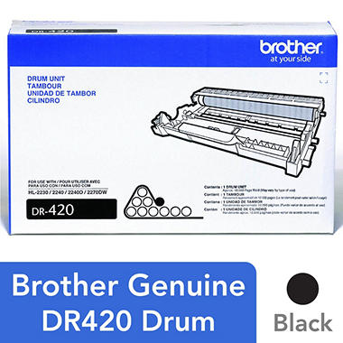 Brother DR420 Drum Unit (12000 Page Yield)