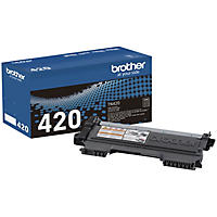 Brother - TN420 Standard Yield Toner Cartridge, Black