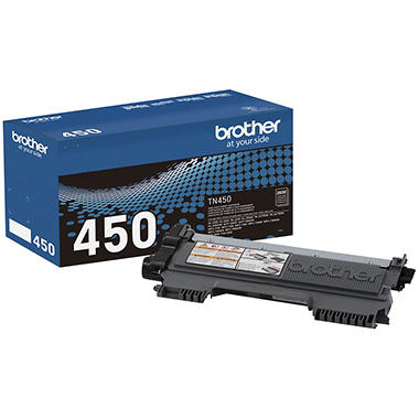 Brother TN450 High-Yield Toner - 2,600 Page-Yield - Black