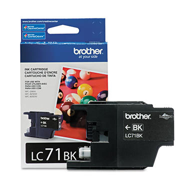Brother LC71 Innobella Ink Cartridge, 300 Page Yield - Select Color