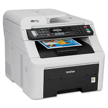Brother MFC-9125CN All-in-One Laser Printer - Copy/Fax/Print/Scan