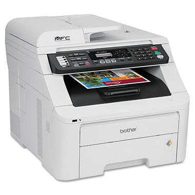 Brother MFC-9325CW Wireless All-in-One Laser Printer - Copy/Fax/Print/Scan