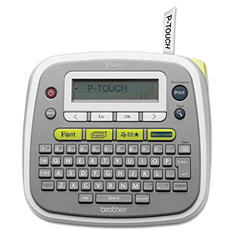 Brother P-Touch - P-Touch PT-D200 Label Maker, 2 Lines -  6-1/2w x 6-1/10d x 2-7/10h