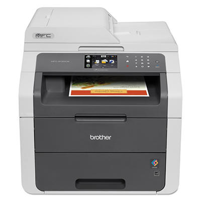 Brother MFC-9130CW All-in-One Laser Printer, Copy/Fax/Print/Scan