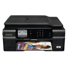Brother MFC-J870DW Compact Wireless Inkjet All-in-One Color Printer - Copy/Fax/Print/Scan