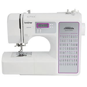 Brother 80-Stitch Project Runway Computerized Sewing Machine, CS8800PRW