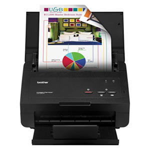 Brother ImageCenter Scanner ADS2000E 600 x 600 dpi 50 Sheet Feeder