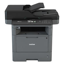 Brother MFC-L5800DW Business Monochrome All-in-One Laser Printer, Copy/Fax/Print/Scan