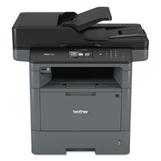 Brother MFC-L5900DW Monochrome All-in-One Laser Printer, Copy/Print/Scan
