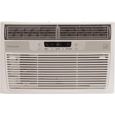 Frigidaire FRA086AT7 Energy Star 8,000 BTU 115-Volt Window-Mounted Compact Air Conditioner with Temperature Sensing Remote