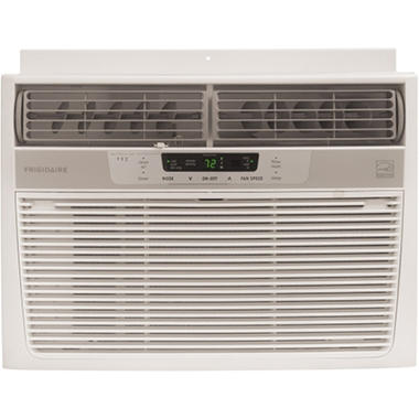 Frigidaire FRA126CT1 Energy Star 12,000 BTU 115-Volt Window-Mounted Compact Air Conditioner with Temperature Sensing Remote Control