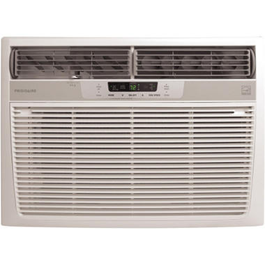 Frigidaire FRA156MT1 Energy Star 15,100 BTU 115-Volt Window-Mounted Median Air Conditioner with Temperature Sensing Remote Control