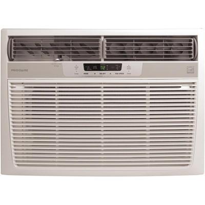 Frigidaire FRA156MT1 Energy Star 15,100 BTU 115-Volt Window-Mounted Median Air Conditioner with Temperature Sensing Remote Control