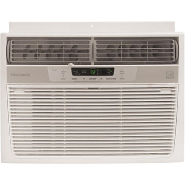Frigidaire 10,000 BTU Window-Mounted Compact Air Conditioner with Remote Control