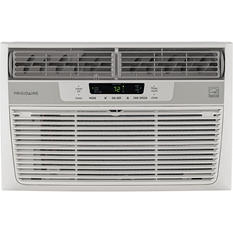 8,000 BTU 115V Window-Mounted Mini-Compact Air Conditioner with Temperature-Sensing Remote Control