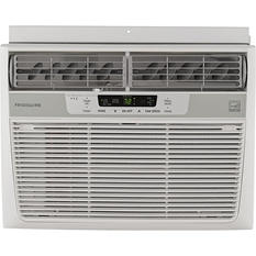 12,000 BTU 115V Window-Mounted Compact Air Conditioner with Temperature Sensing Remote Control