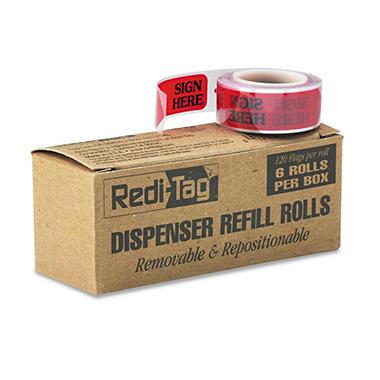 Redi-Tag - Right Arrow Flag Refills -