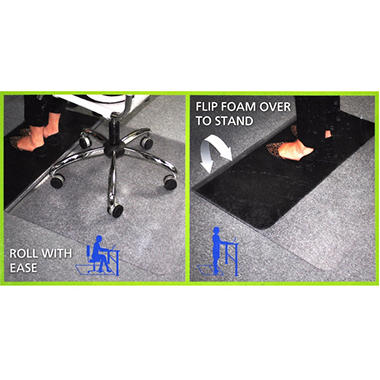 SIT/STAND CHAIR MAT 36 X 48 INCHES