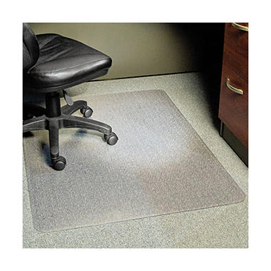ES Robbins - Rectangle Chair Mat, Task Series AnchorBar for Carpet up to 1/4