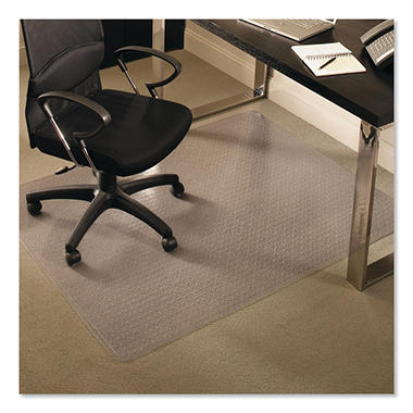 ES Robbins - AnchorBar Rectangular Chairmat, High Pile - 46 x 60
