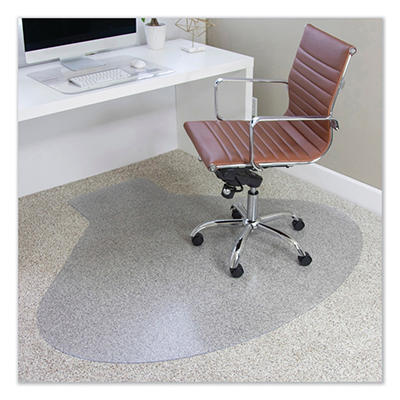 ES Robbins - AnchorBar Workstation Chairmat, Medium Pile - 66 x 60""