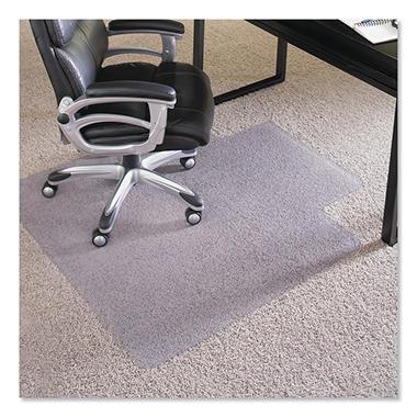 ES Robbins - Executive AnchorBar Chairmat w/Lip, Plush Pile - 36 x 48