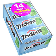 Trident Mint Bliss Sugar Free Gum - 18 ct. - 14 pk.